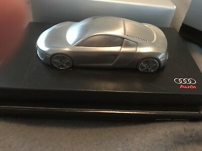 Audi R8 Limited Edition 1:43 Scale Billet Aluminum Paperweight