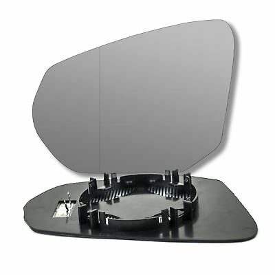 plate Left side Wide Angle wing mirror glass for Audi Rs2 1994-1995 heated