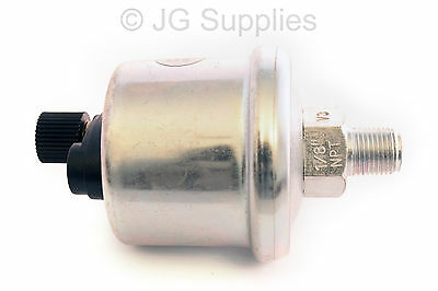 Oil Pressure 150 PSI / 10 Bar Sender 1/8-27 NPT (ER) Replaces VDO