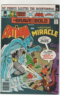 Brave And The Bold # 128**** Ft Batman And Mr Miracle ****1976***fine