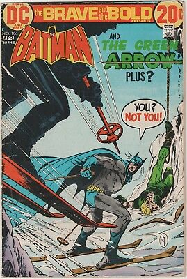 Brave And The Bold # 124**** Ft Batman And Green Arrow ****1973***very Good Plus