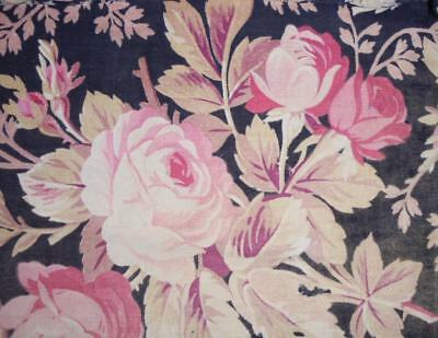 AUTUMN CLEAROUT TIMEWORN LATE 19th CENTURY FRENCH QUILTED FRAGMENT 75.