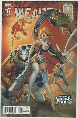 Weapon H # 6***return Of The Fantastic Four Variant***2018***very Fine