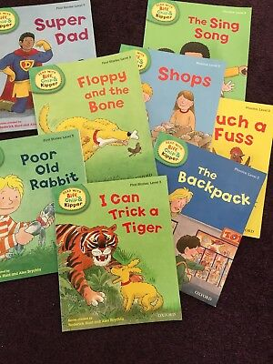 Read With Biff Chip And Kipper Level 3 Bundle