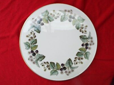 ROYAL WORCESTER LAVINIA Large Gateau Cake Stand Fine Bone China Boxed