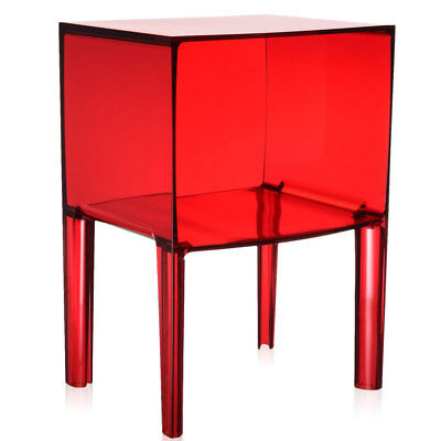 Comodino Ghost Buster Kartell.Kartell Original Ghost Buster Small Red Side Table Philippe Starck