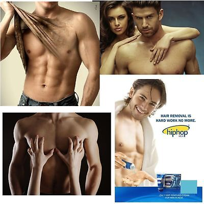 Hip Hop Men's Hair Removal Cream (For Arms, Legs, Chest Ears & Body) FREE SHIP