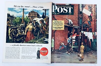 Saturday Evening Post May 26 1945 NORMAN ROCKWELL Full Mag WELCOME HOME Cover