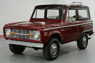 1970 Ford Bronco 302V8. Uncut. Restored! Ps Factory Hubcaps!