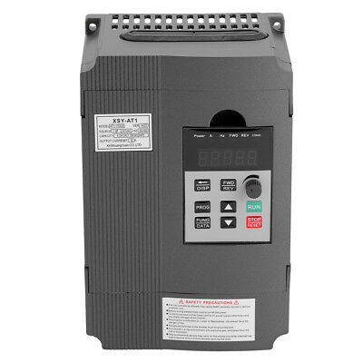 1.5kW 2HP Frequenzumrichter Variable Frequency Drive Inverter 3-Phase VFD NEU A+