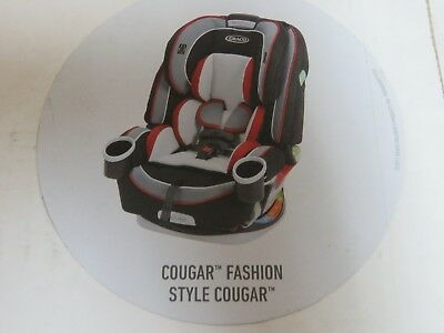 Graco 4Ever Convertible 4-in-1 Infant Car Seat - Cougar (MT6)