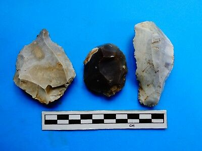 Quality Neolithic Flint Tool Kit (A)- Ashmore, Dorset found-Look!