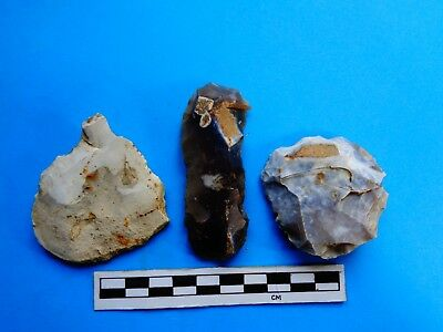 Quality Neolithic Flint Tool Kit (C)- Ashmore, Dorset found-Look!