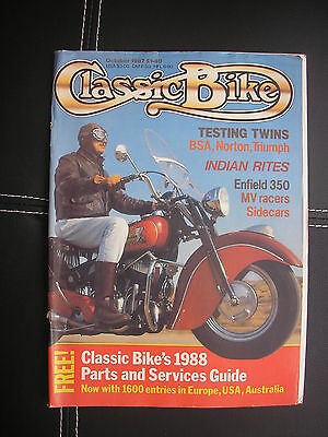 Classic Bike Magazine October 1987