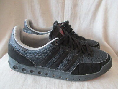 Adidas black Trainers size 8