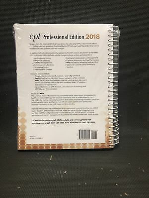 CPT 2018: Professional Edition American Medical Association
