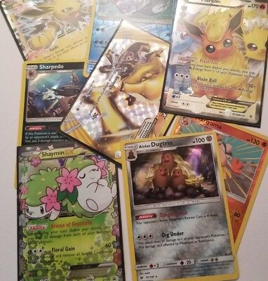 Pokemon TCG 100 Card Bulk Lot - Includes GUARANTEED Rares & Holos.No duplicates!