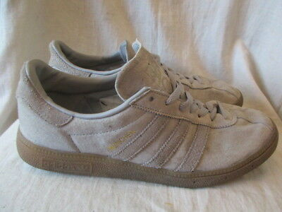 Adidas Munchen Grey  suede Trainers size 9