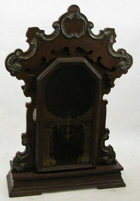 Antique Oak Seth Thomas Kitchen Parlor Clock Case Parts Repair