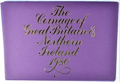 1980 Coinage of Great Britain & Northern Ireland Proof Set (b455.16)