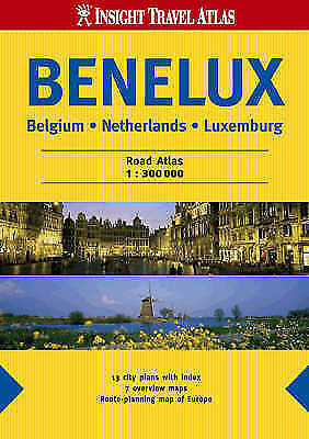 Benelux Insight Travel Atlas (Insight Travel Atlases) by