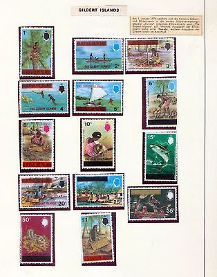 Gilbert Ellice Islands QE MNH To $5 Incl.Wildlife (50+Items) (SK27