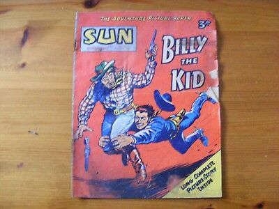 1955 SUN Weekly- Billy the Kid dated Mar 5th 1955, in ok condition - number 317
