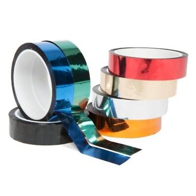 Pro Sheen Metallized Decor Adhesive Tape 24mmx33m for Hula Hoop Tyres Design