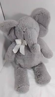 "Pottery Barn Kids Elephant Plush Stuffed Animal Replacement Gray 17"" PBK 2013"