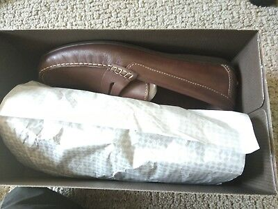 6aefcd13443 FLORSHEIM MEN S JASPER Penny Loafer Brown 10.5 D US -  65.00