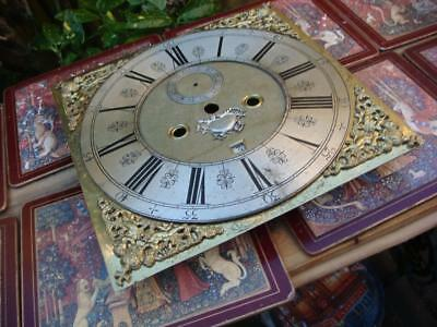 Vintage  Dial For Longcase For Restoration  Spare Or Repair