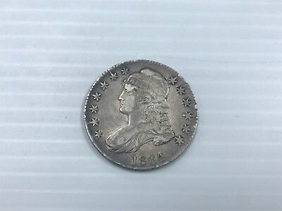 1834 Bust Half Dollar 50C (O-103 R2) VF/XF Large Bust Large Date -T9