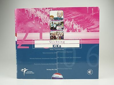 *** EURO KMS NIEDERLANDE 2006 KIKA Foundation Netherlands Holland Coin Set ***