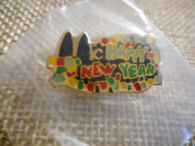 McDonald's Vintage Lapel Pin McHappy New Year New Never Worn Sealed