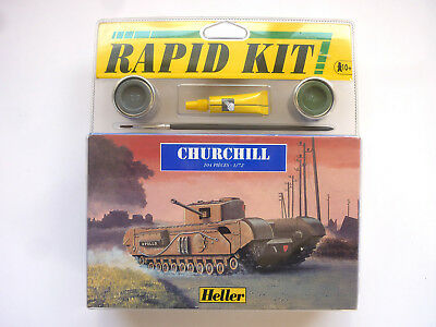 Heller – Churchill 1/72 Modellpanzer, Rapid Kit 79884 OVP in Blister
