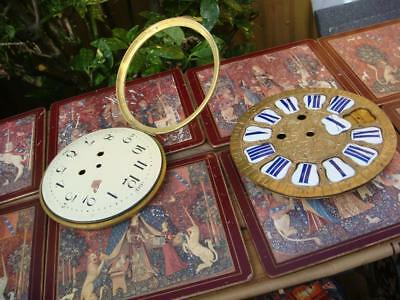 Vintage Clock Dial For  For Restoration  Spare Or repair