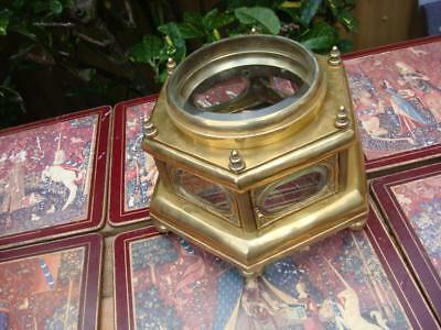 Vintage Clock CASE  For Mantle Clock for  Restoration  Spare Or repair