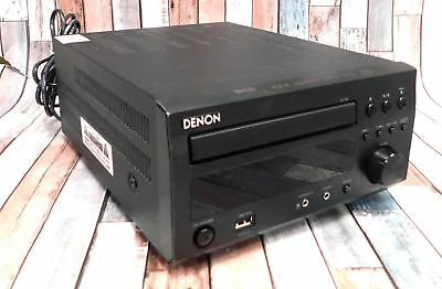 DENON RCD-M38DAB HiFi Amplifier CD Tuner + NO REMOTE CONTROL Black - BA3