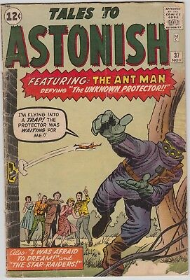TALES TO ASTONISH #37, ANT-MAN , cents issue