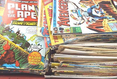 Approx 300 Vintage Comics Mostly c1970's/80's - G35
