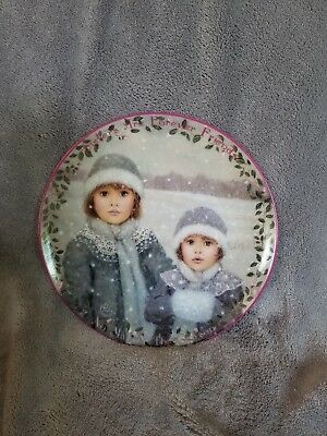 The Bradford Exchange~#4 Forever Friends~Kindred Moments~collector plate~