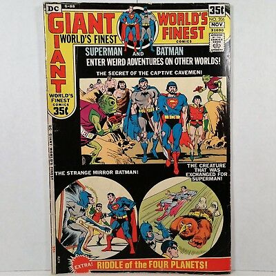 World's Finest Comics - No. 206 - DC Nat'l Comics Inc. - Oct./Nov. 1971 - NR