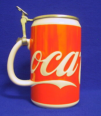 Limited Edition 1993 Coca Cola Stein No. 83 of 8000 Made in Germany