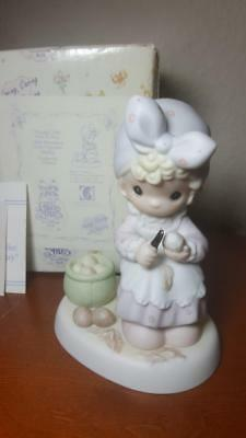 Vintage Enesco Precious Moments 1995 Members Only Always Take Time To Pray PM952