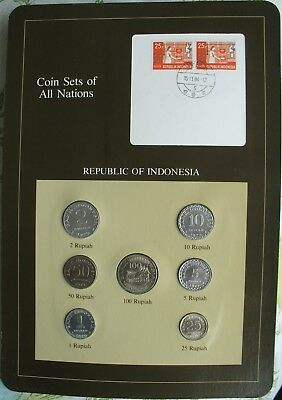 Indonesia 1970-79 Coin Sets of All Nations