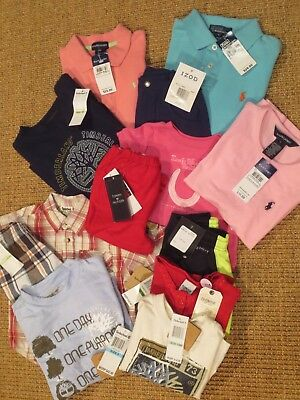NWT NEW  Wholesale Children's Clothing Lot  Polo Ralph Lauren, Timberland,Nike