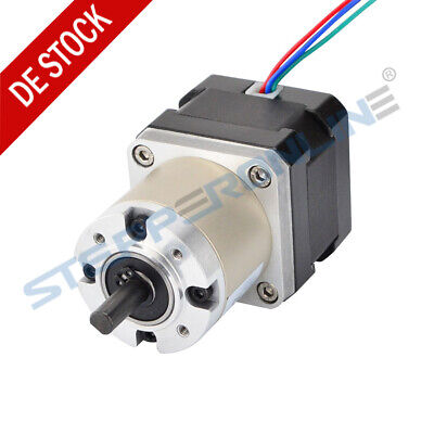 27:1 Planetary Gearbox Nema 17 Stepper Motor 0.4A 33mm 4 Drähte for CNC Robot