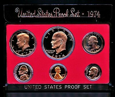 1974 S (1) One Set = *6*  Proof Coins Original Mint Packaging