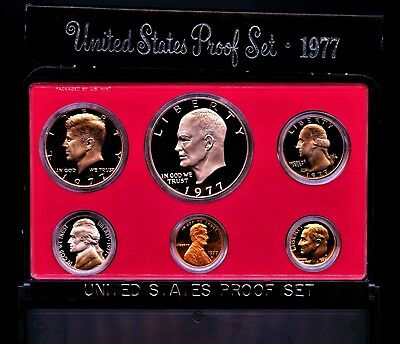 1977 S (1) One Set = *6*  Proof Coins Original Mint Packaging
