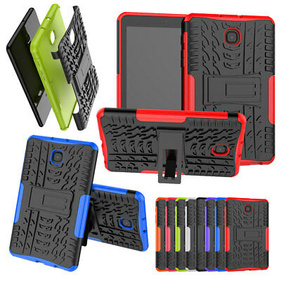 Shockproof Hybrid Rugged Stand Case Cover For Samsung Galaxy Tab A 8.0 2018 2017